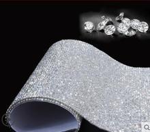 Car decoration sticker drill scratch diamond sticker flash diamond car jewelry crystal diamond stickers DIY creative sticker-404
