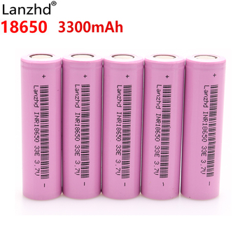 INR18650 30A discharge Li ion 18650 33E Rechargeable batteries Li-ion 3.7v lithium batteries 3300mAh 18650 battery E cigarette trustfire imr 18650 50a 3 7v 2600mah 9 62wh li ion high rate rechargeable battery lithium batteries for led flashlights e cigs