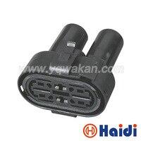 Ücretsiz kargo 5 takım 4pin VW su geçirmez otomatik kablo demeti kablo konektörü 1H0973204 1H0 973 204