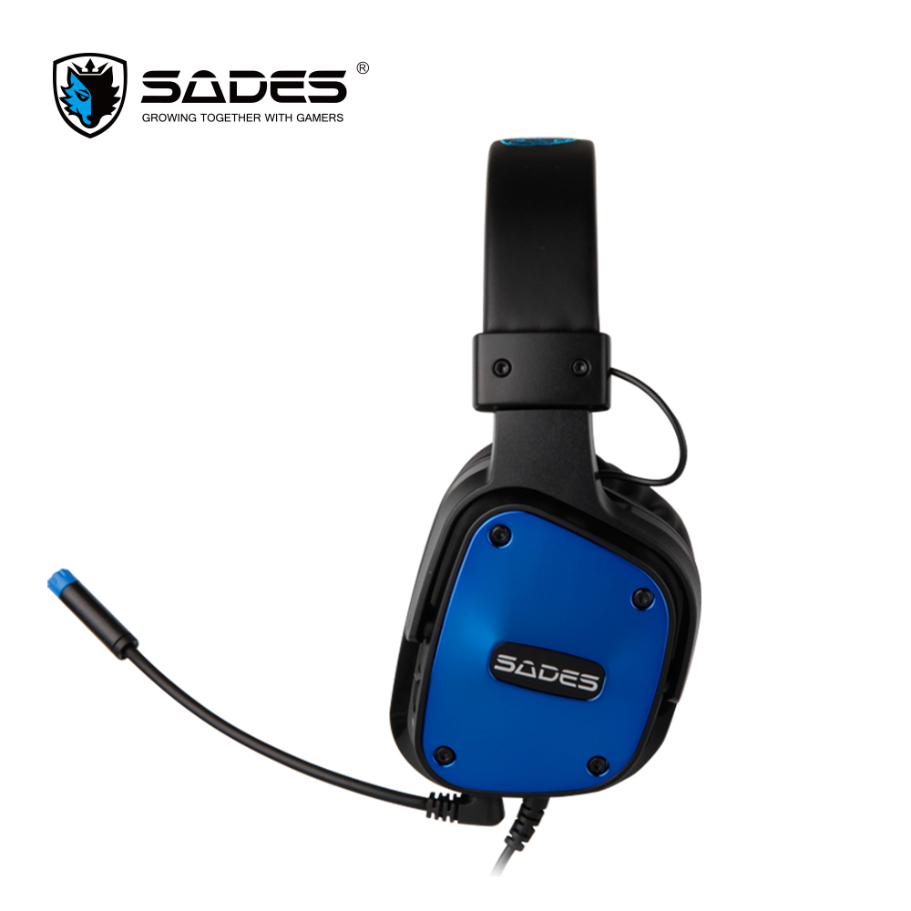 SADES Gaming auriculares estéreo sonido heaset 3.5mm para - Audio y video portátil - foto 4