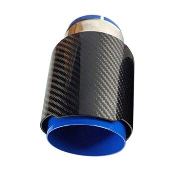 Sistemi di Stile universale Tubo di Scarico In Acciaio Inox Tubo di Coda Punta Del Silenziatore Auto Gola Posteriore Accessori di Fine Turno