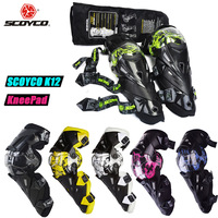 SCOYCO K12 Motocross Motorcycle Knee Pads Protector Mx Brace Equipment Moto Protection Knee Braces Mtb Guard Pad Skis Kneepads