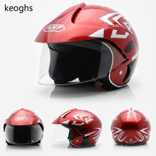 Дети мотоциклетный шлем детей шлем девочка мальчик теплый безопасный белый синий желтый красный бесплатная доставка