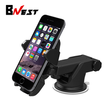 Bnest Universal Long Arm Windshield mobile Cell phone Car Mount Bracket Holder for iPhone 7 Galaxy S5 S6 S7  LG GPS Stand