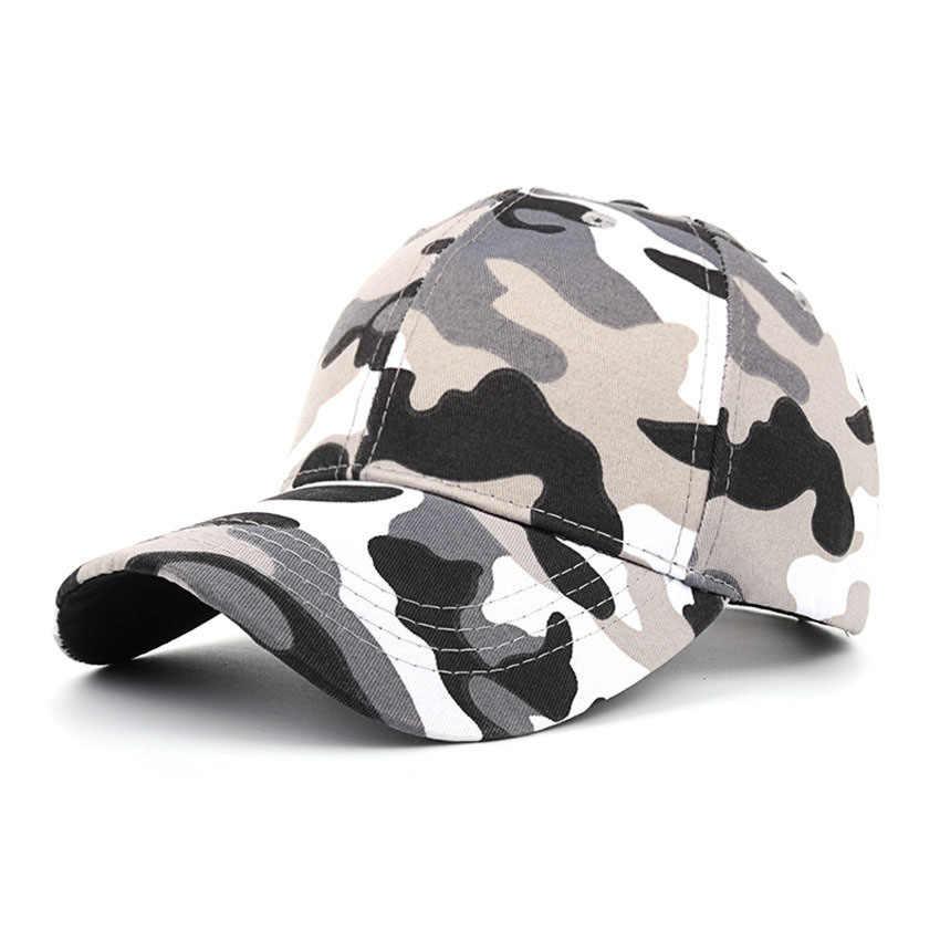f05828e7 ... 2018 New Arrival MEN'S HATS Men Camo Baseball Caps Mesh for Spring  Summer Outdoor Camouflage Jungle