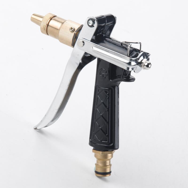 Adjustable Copper Hose Spray Nozzle Gun Garden Hose Water
