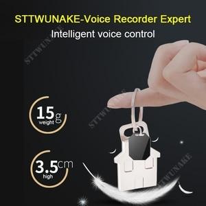 Image 2 - Sttwunake gravador de voz de áudio profissional digital hd ditaphone mini denoise escondido de longa distância de alta fidelidade original mp3