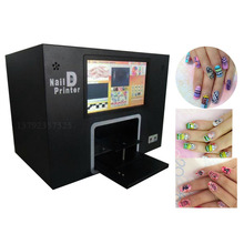 5 hand nails painting digital nail printing machine computer and touch screen nail and flower printer machine