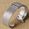 Original Enlace Pulsera correa y Milanesa Lazo correas de reloj de Acero Inoxidable reloj banda para apple 38mm/42mm Correa de Reloj para iWatch