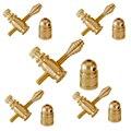 Peças de Armas de tatuagem Latão Binding Post Jonesy, fichário 5 Conjuntos Custom tattoo machine parts