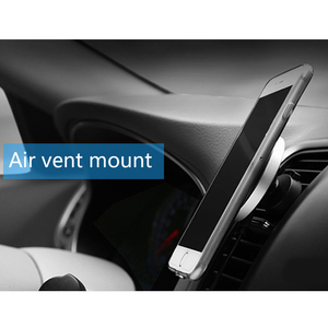 Image 5 - CinkeyPro QI Wireless Car Charger Magnetic Holder for for iPhone 8 10 X Samsung S6 S7 S8 Air Vent Mount Stand 5V/1A Charging