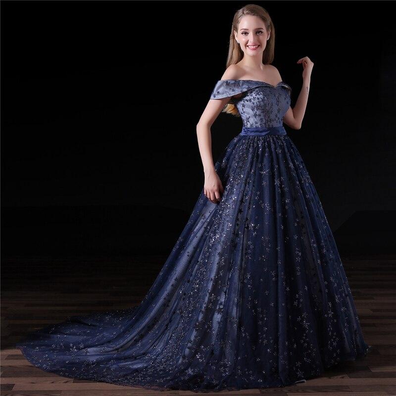 Abendkleider A line Sequined Lace Evening gowns Plus size Saudi ...