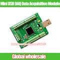 1 unids Mini Módulo de Adquisición de Datos DAQ USB 0-3.3 V Analógico 12AD 2DA digital 8I/O PWM Contador Matlab LabVIEW VC Códigos Win7 8 10
