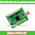 1pcs Mini USB DAQ Data Acquisition Module 0-3.3V Analog 12AD 2DA digital 8I/O PWM Counter LabVIEW Matlab VC Codes Win7 8 10