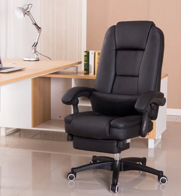 Купить с кэшбэком Computer chair home fashion leisure chair can lay the boss chair staff chair swivel chair leather art chair at the noon hour