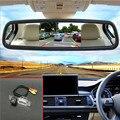 2in 1 ayuda del estacionamiento del coche de 5 ''Tft Lcd monitor del espejo de coche Para KIA Sorento R/Sorento MX 2010 ~ 2015 con cámara de visión trasera