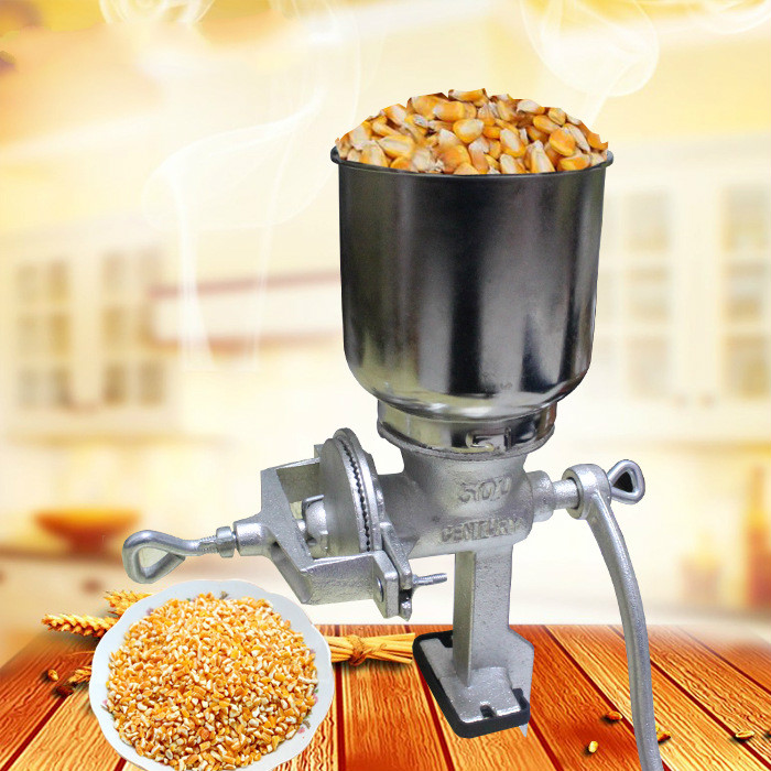 Hand cranked Peanut Crusher Mill Grain Powder Grinding Machine Manual Coffee Bean Grinder Pepper Seasoning Herbs Pulverizer