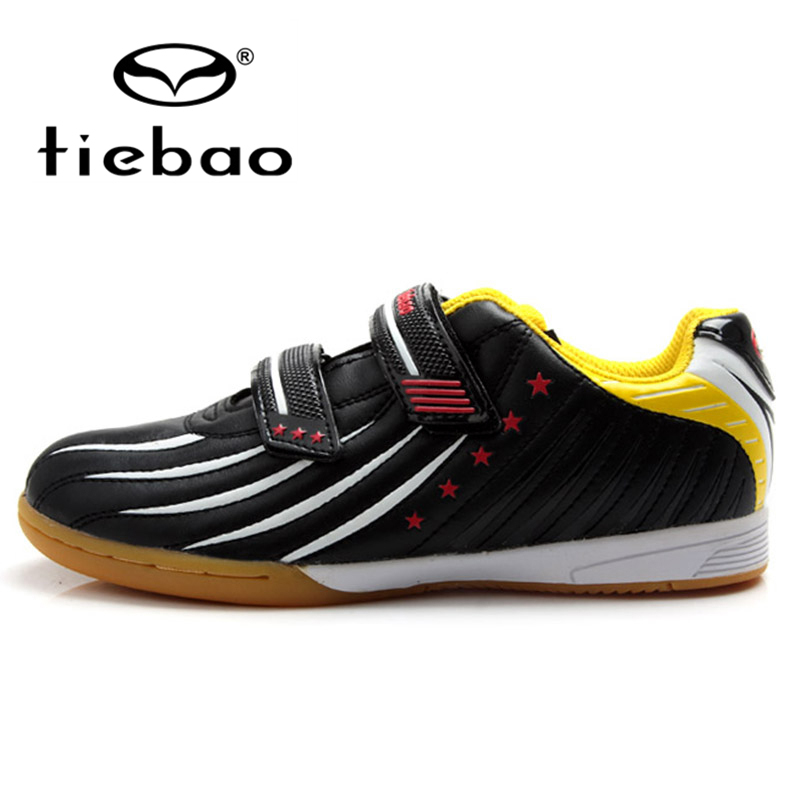 TIEBAO Professional Children Soccer Cleats Children Kids Teenagers Football Boots IN & IC Soles 2017 Outdoor Soccer Shoes tiebao new men outdoor grass soccer shoes cleats for adults children sports football shoes brand football boots male size 35 44