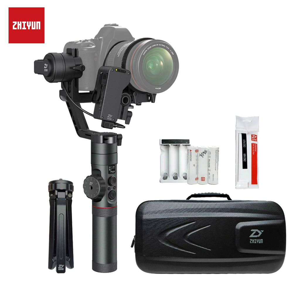 ZHIYUN Crane 2 Camera Gimbal with Servo Follow focus 3 2 Kg Payload for DSLR Mirrorless