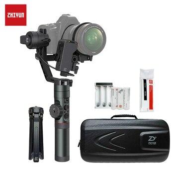 Cardán de cámara ZHIYUN Crane 2 con Servo Follow focus 3,2Kg carga útil para cámara sin espejo DSLR estabilizador SONY Panasonic Canon
