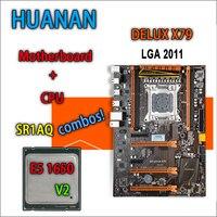 HUANAN Golden Deluxe Version X79 Gaming Motherboard For Intel LGA 2011 ATX Combos E5 1650 V2