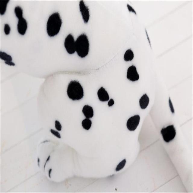 Wolf Stuffed Animal Plush Toy Dalmatian Dog Pillow Simulation Dalmatian Stuffed Animal Dog Soft Toy Doggy Decoration Gifts 2
