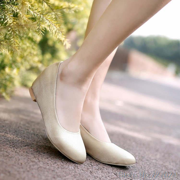 Pumps Shoes font b Woman b font Mesh New 31 32 33 49 48 47 46