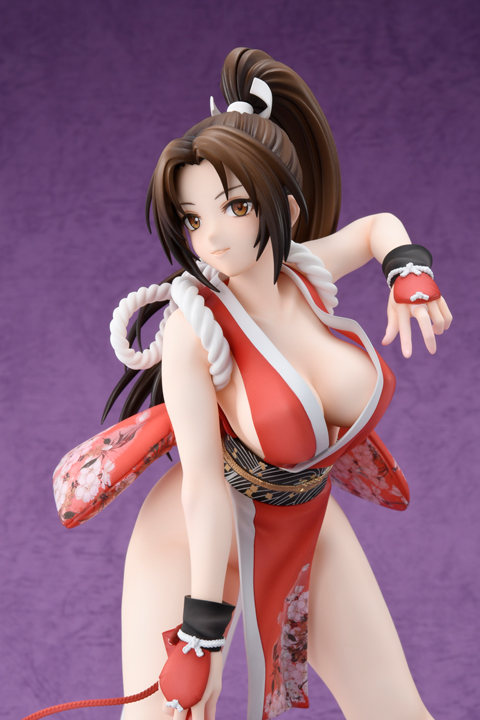 Spiel KOF Charakter Mai Shiranui Hobby JAPAN König der Kämpfer XIV Action Figur Modell Spielzeug