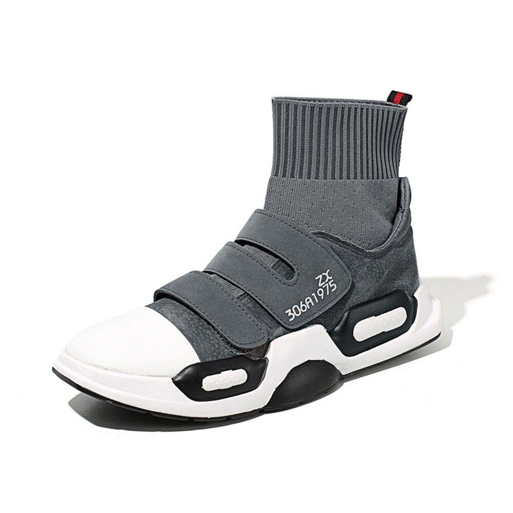 Dos Fresco De Sneakers High Moda Shoes Sapatos Respirável Das Genuíno Top Casuais cinza Preto Lazer Do Livre Da Ao Couro laranja Flat Homem Masculino Ar Homens Mulheres B8BxqIw67