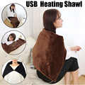 New Car Home Electric Warming Heating Blanket Pad Shoulder Neck Mobile Heating Shawl USB Soft 5V 4W Winter Warm Health Care