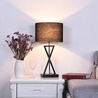 Современный творческий письменный стол лампы AC110 240V люстры де Сала plafon Люминиры для гостиной кабинет светодиодный E27 настольные лампы