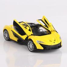 1/32 diecastsおもちゃ車マクラーレンP1車モデルとサウンド & 光収集車のおもちゃ子供のギフトbrinquedos