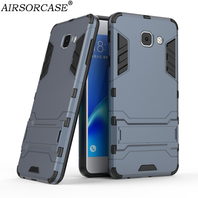 purchase cheap 1cf60 dc377 US $4.99 |Mobile Phone Cases For Samsung Galaxy J7 Max Cover 5.7'' J7max  Case Quality Hard PC & TPU Hybrid Armor Kickstand Back Cover-in Fitted  Cases ...