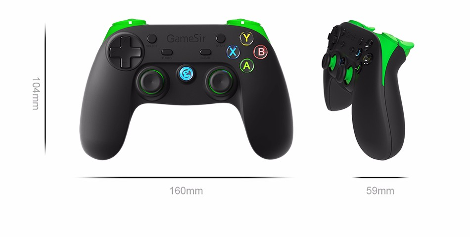 GameSir G3s Gamepad for PS3 Controller Bluetooth&2.4GHz snes nes N64 Joystick PC for Samsung Gear VR Box for SONY Playstation 2 20
