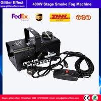 400w DJ stage special effect smoke machine small mini wire control fog jet stage party show professional lighting smoke machine