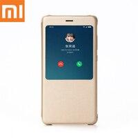 Original XIaomi Redmi Note 4X 3GB 32GB Case Intelligent Display Protective Filp Cover Case For RedmiNote4