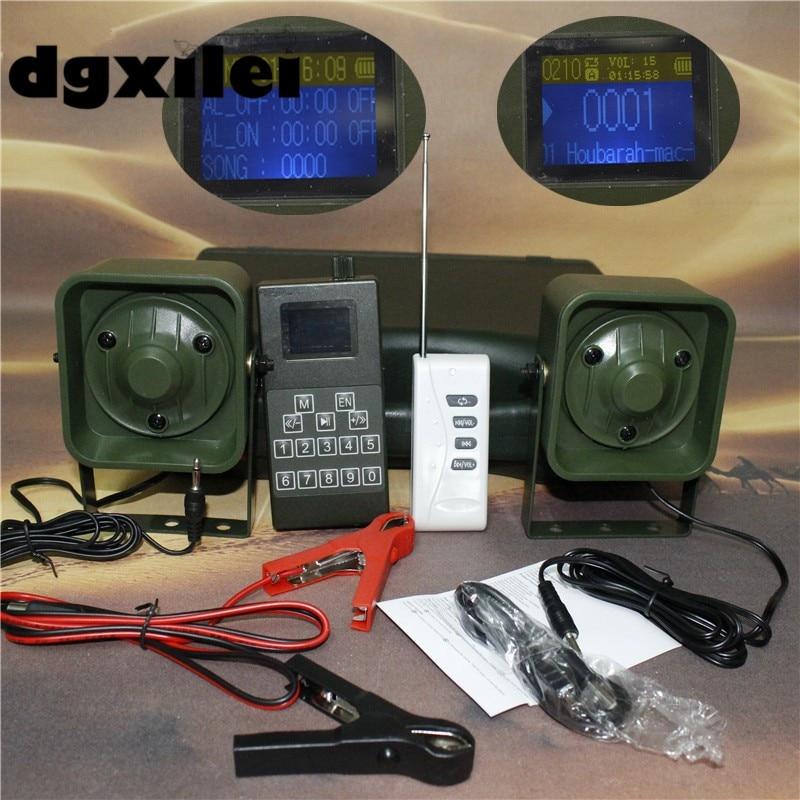 Desert Use Wirelesss Remote Control 50W Hunting Bird Caller Mp3 Player Bird Sound Caller Predator Caller With Timer