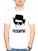 Gildan Official Plan 9 Heisenpug T Shirt Obey Elements Pug Breaking Bad Los Pollos