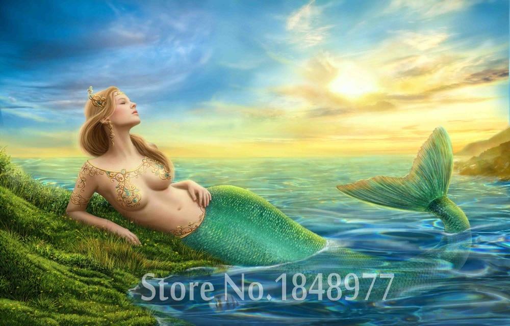 Nude mermaid picture