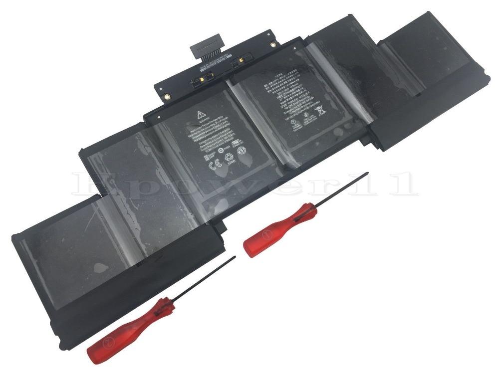 OEM Battery for Apple MacBook Pro 15 Retina A1398 A1618 2015 8755mAH 11.36v