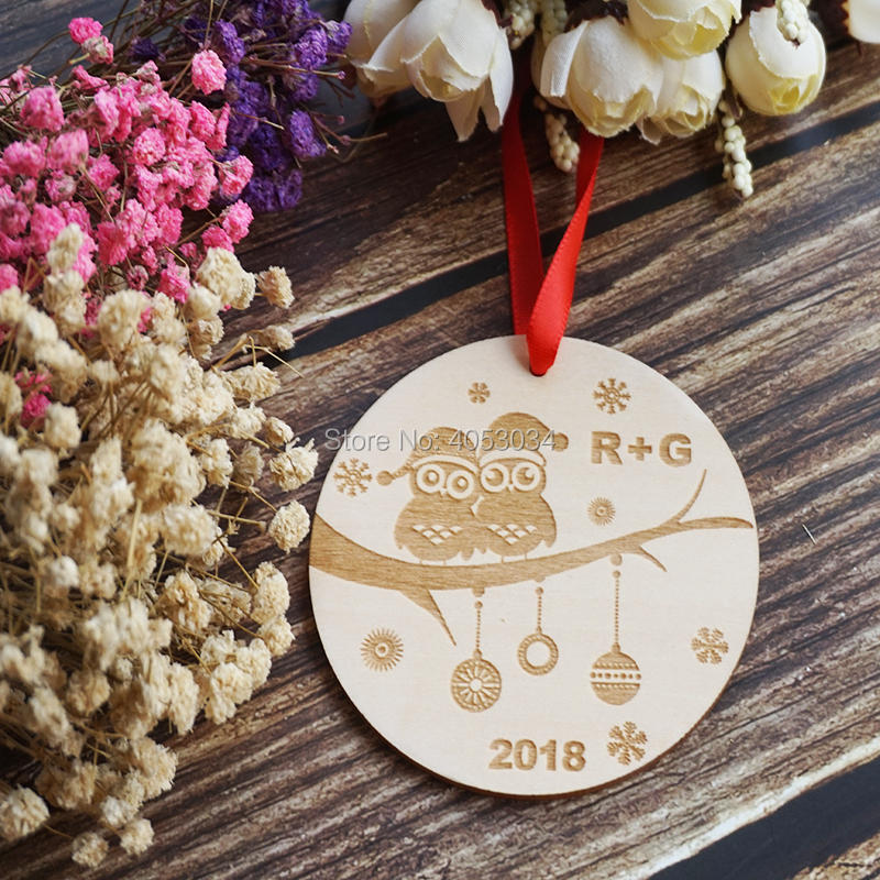 aliexpress com buy personalized christmas ornaments engraved
