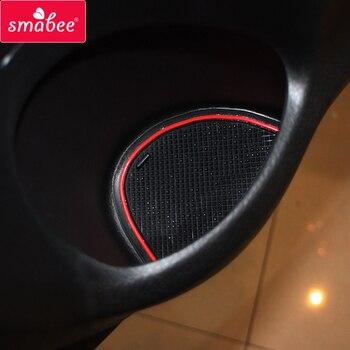 Antypoślizgowe Gumowe Brama Gniazdo Puchar Mat Dla Suzuki SX4 S-krzyż 2014 2015 2016 2017 2018 Maruti SX-4 SX 4 S Krzyż SCross Akcesoria