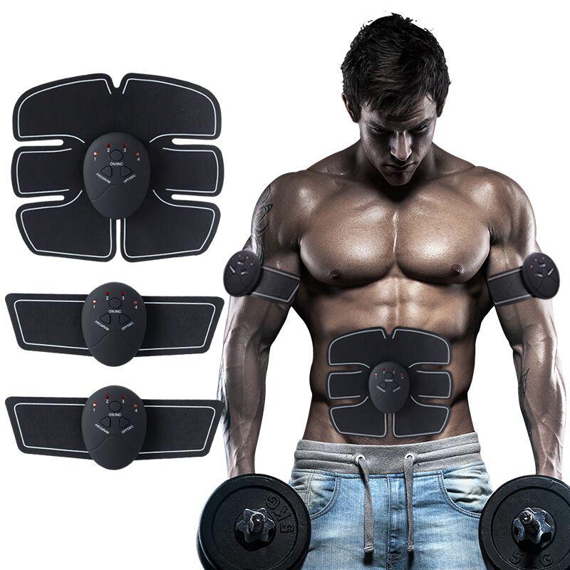 Wireless estimulador muscular cuerpo adelgazar belleza Shaper Abdominal cinturón de tonificación ccsme entrenador cuerpo pérdida de peso aptitud masajeador