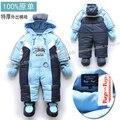 Осень зима детские комбинезоны одежда для младенцев новорожденных продукты младенцы в целом мальчик хлопок ползунки дети тёплый комбинезоны младенцы
