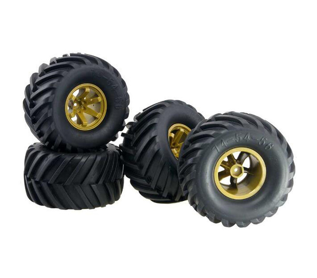 Monster Truck Tires >> Free Shipping 4pcs 2 2 1 10 Rc Monster Truck Tires 2 2 Inch Rc