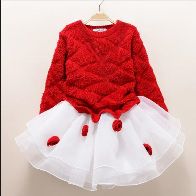 NICBUY 2017 winter wear children's dress princess dress, a thick han version of the winter version of the baby sweater dress the grand scribe s records v 1 – the basic annals of pre–han china