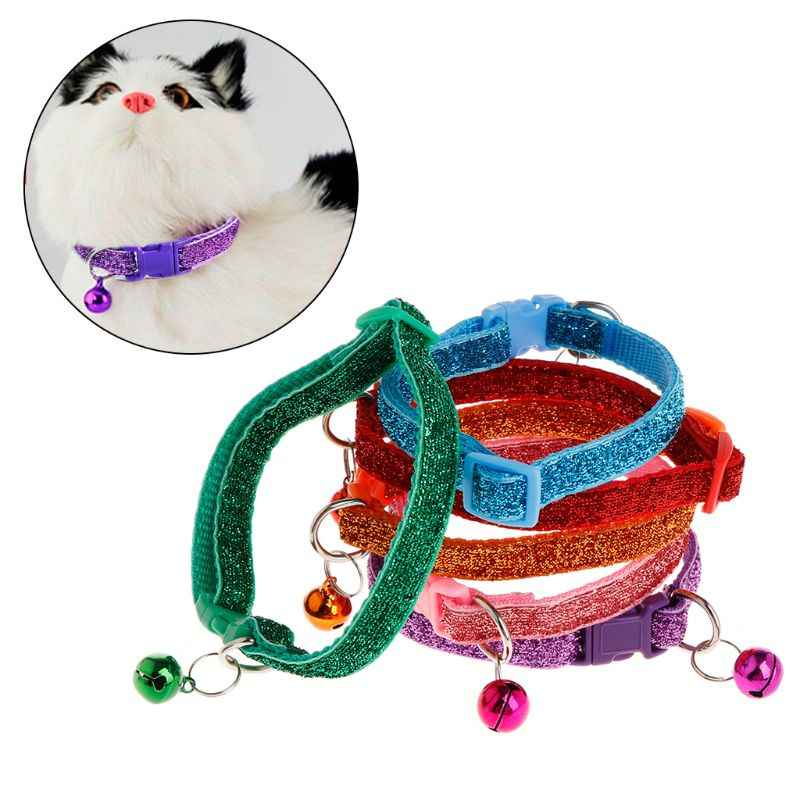 Pet Collar Luminous Shiny Dog Puppy Cat Kitten Anti Lost Necklace Strap Adjustable Belt Buckle Supplies Accessories Decoration