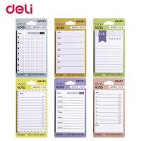 BP6 style cute weekly planner memo pad office school supply kawaii notes post it sticker scrapbook agendas scheduler WJ SMT125