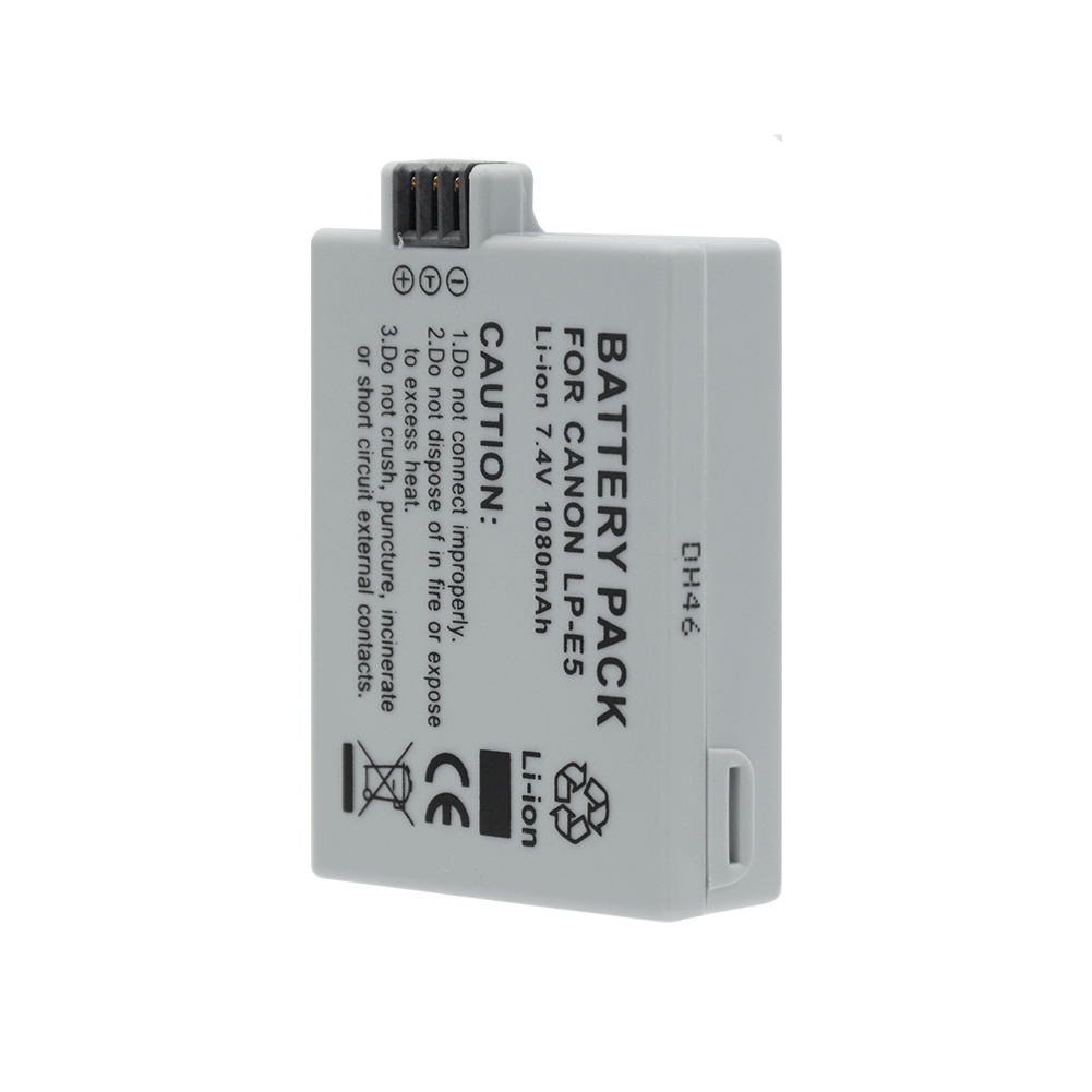 Accessories & Parts 1pc Usb Battery Charger For Canon Lp-e5 Eos 1000d 450d 500d Kiss F Kiss X2 Rebel Xsi Black New