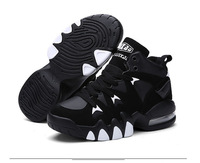 Cheap Mens Basketball Shoes 2018 Outdoor Breathable Trainers Lace Up Women Sneakers Athletic Air Cushion Sport